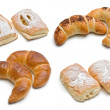 Assorted sweet baked products - Stock Photo