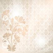Vektor floral bakgrund — Stockvektor