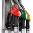 Stock Photo: Gas pumps isolated