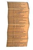 Zrazy z bambusa — Zdjęcie stockowe
