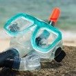 Stock Photo: Snorkel and mask