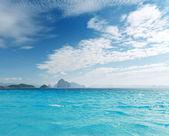 Playa de arena blanca — Foto de Stock