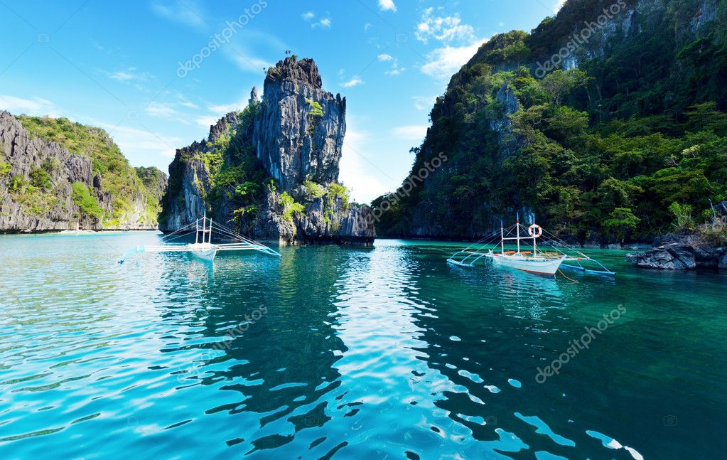 Magnificent tropical sea. Philippines. El Nido. — Stock Photo #5961298