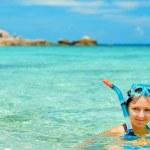 Snorkeling — Stock Photo #5970791