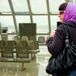 The traveling woman — Stock Photo #5970798