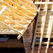 Stock Photo: Wooden roof