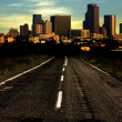 Royalty-Free Stock Photo: Road to city