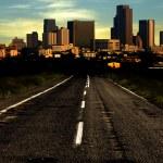 route de ville — Photo