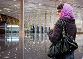 旅行の女性 — ストック写真