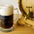 Stock Photo: Dark beer