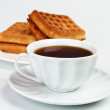 Wafer biscuits - Foto Stock