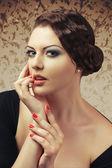 Mulher encantadora — Fotografia Stock