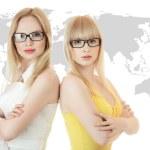 Two busineswomen — Stock Photo