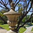 Stock Photo: Stone Vessel Garden