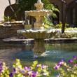 Courtyard Fountain — Stock fotografie