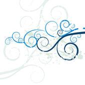 Grunge Swirl Background Texture — Stock Vector