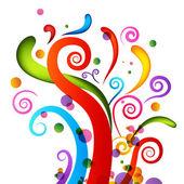 éléments de confetti célébration — Vecteur