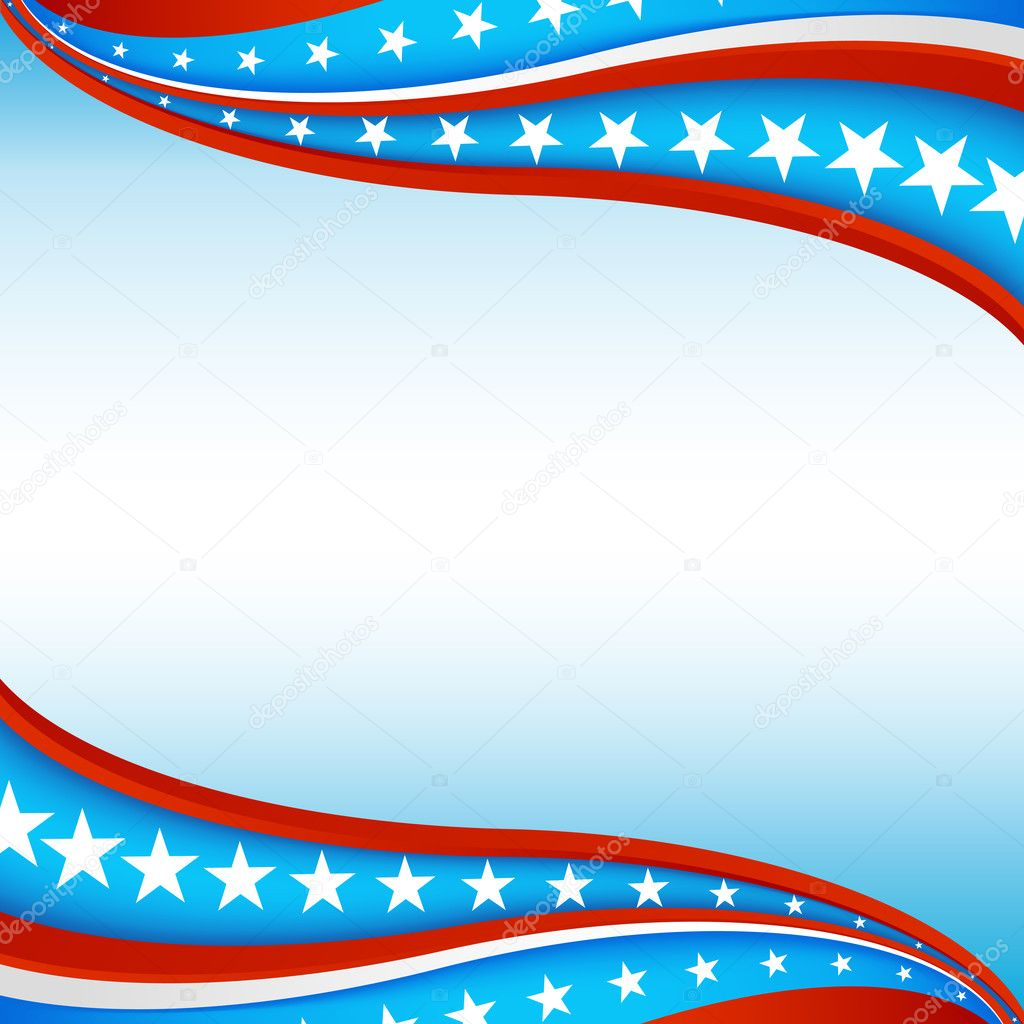 An image of a patriotic star banner background. — Stock Vector #5866996