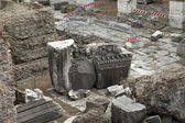 Roman Forum Ruins Temple Stones — Stock Photo