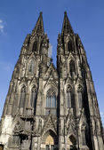 Cologne Cathedral Germany Front — Stock Photo