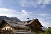German Alps Lodge — Stock Photo