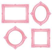 Pink frame — Stock Photo