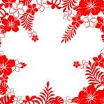 Hibiscus background — Stock Photo #5688499