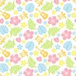 tropiska färgglada mönster — Stockfoto