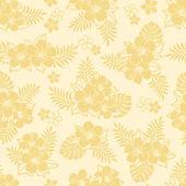 Hibiskusa wzór — Zdjęcie stockowe