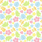 Tropical colorful pattern — Stock Photo