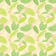 Summer leaf pattern — Stock Photo #6010423