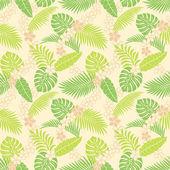 Motif de feuilles d'été — Photo