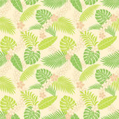 Summer leaf pattern — Stockfoto