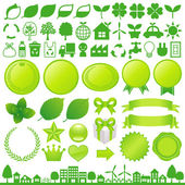 Eco decoration — Stock Photo