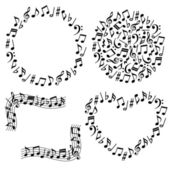 Music notes — Foto de Stock