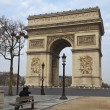Arch of Triumph, Paris, France — Stock Photo