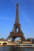 Eiffelturm. paris, frankreich. — Stockfoto