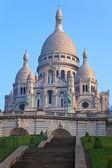 Basilica of Sacre-Coeur in Montmartre, Paris. — Stock Photo