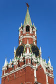 Spassky Tower of Moscow Kremlin. — Stock Photo