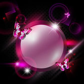 Fashion pink abstract background — Stock Vector