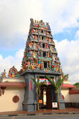 Front of Mariamman temple — Stock Photo