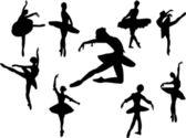 Ballerinas — Stock Vector