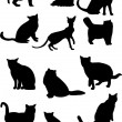Cat collection — Stock Vector