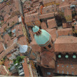 Bologna tilted cityscape — Stock Photo