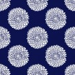 Simple blue pattern - 图库矢量图片