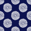 Simple blue pattern - Vettoriali Stock 