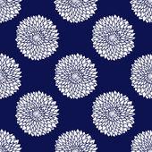Jednoduchý modrý vzor — Stock vektor