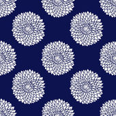 Patrón simple azul — Vector de stock
