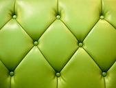 本物の革家具製造販売業の緑の写真 — ストック写真