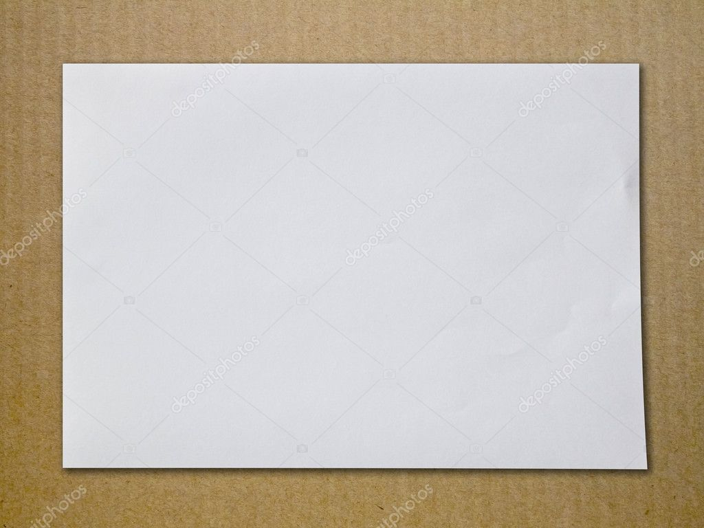 Empty white Crumpled paper — Stock Photo #6539401